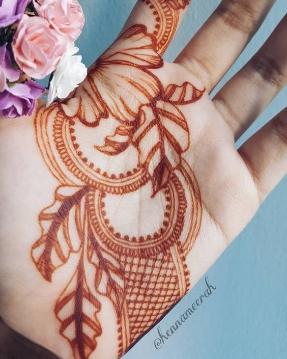 9357a588f39cb Top 111+ Simple Mehndi Designs | ShaadiSaga