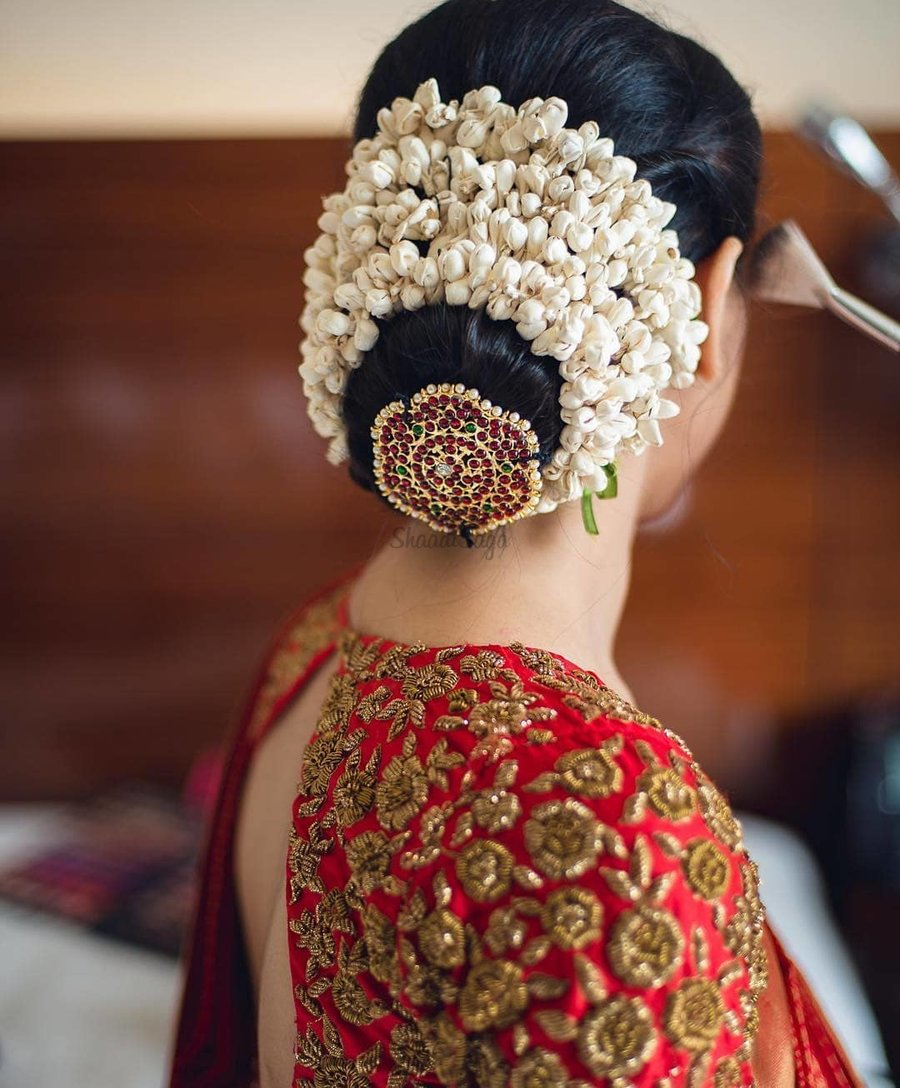 South Indian Hairstyles For Wedding: Jaw-droppingly Pretty Hairstyle Inspo From South Indian