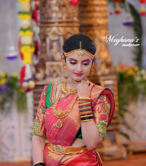 Meghana Bridal Makeups | Makeup Artists in Mysore | ShaadiSaga