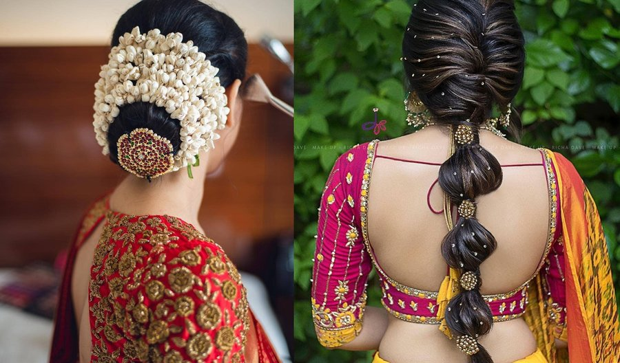 Jaw Droppingly Pretty Hairstyle Inspo From South Indian Brides