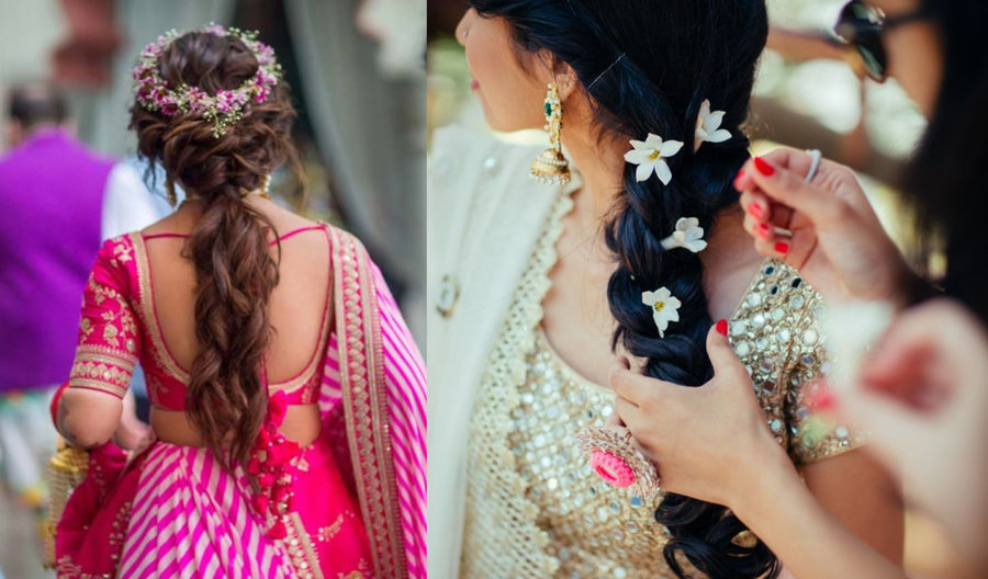 Quick Bridal Hairstyles you can DIY for small Wedding Ceremonies ...