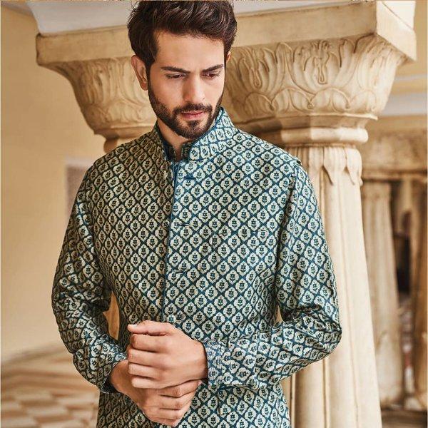 0462015a8b Latest Designer Nehru Jacket Designs & Styles for Grooms & Groomsmen ...