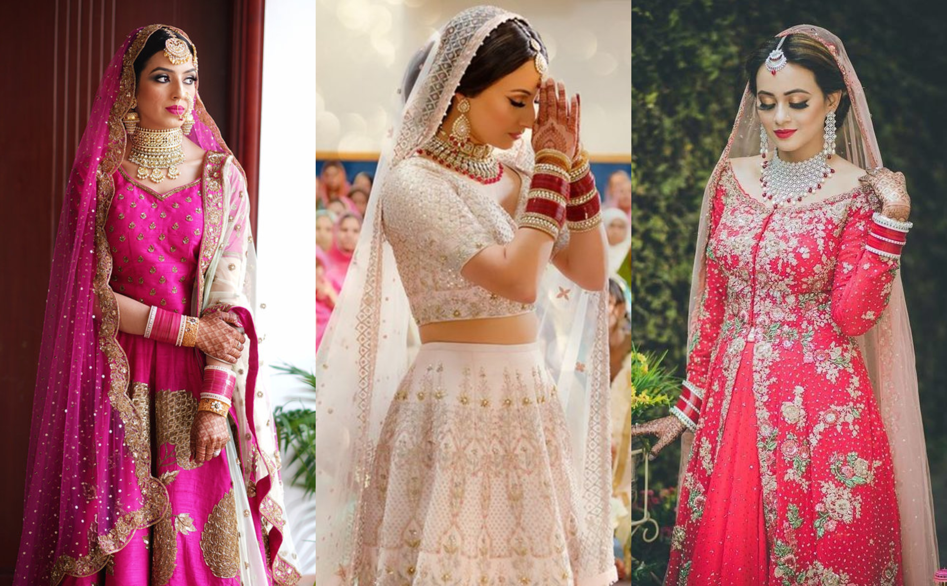 Wedding Looks of these Sikh Brides have taken us by a Storm | ShaadiSaga