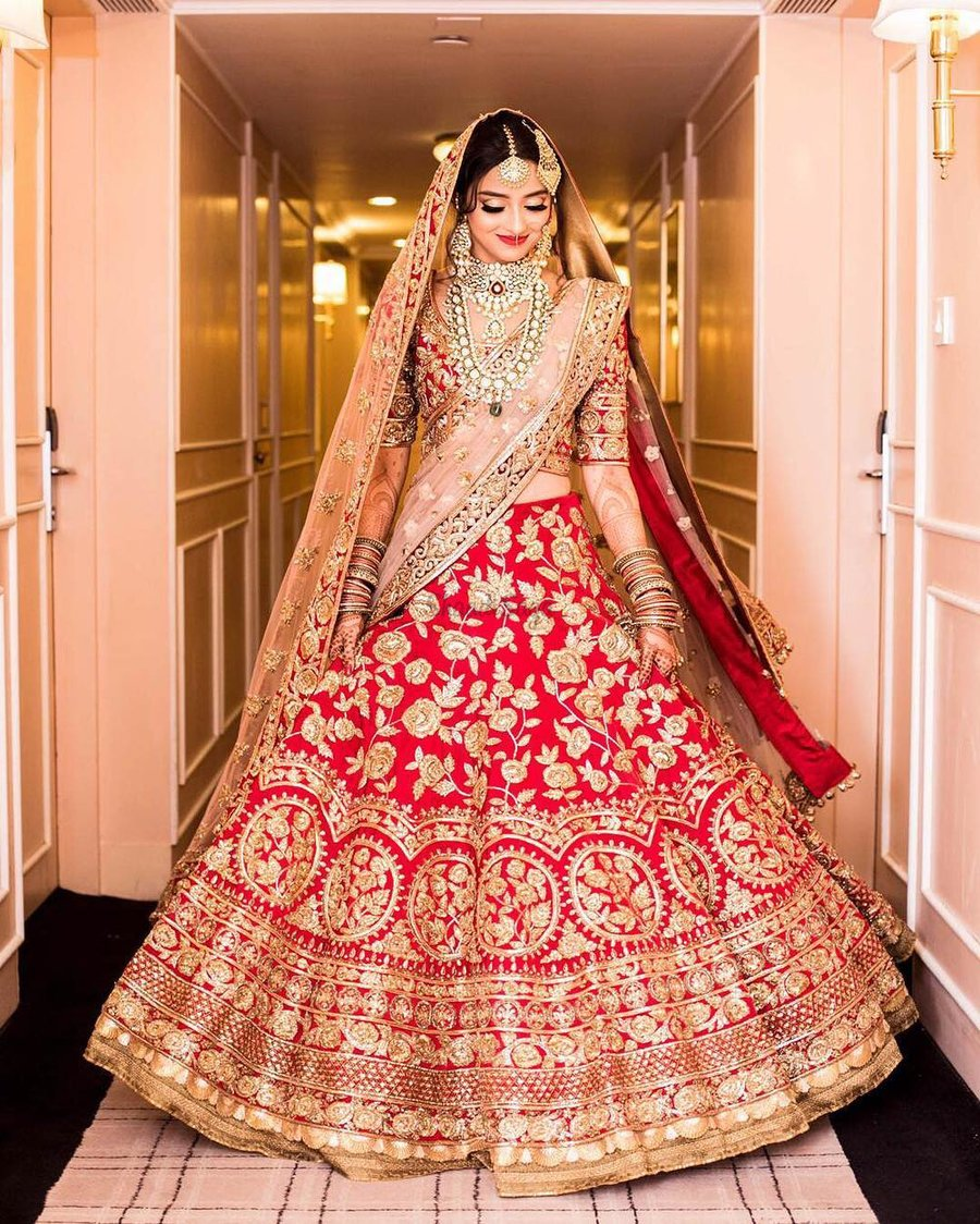 Designer Indian Wedding Dresses By Manish Malhotra