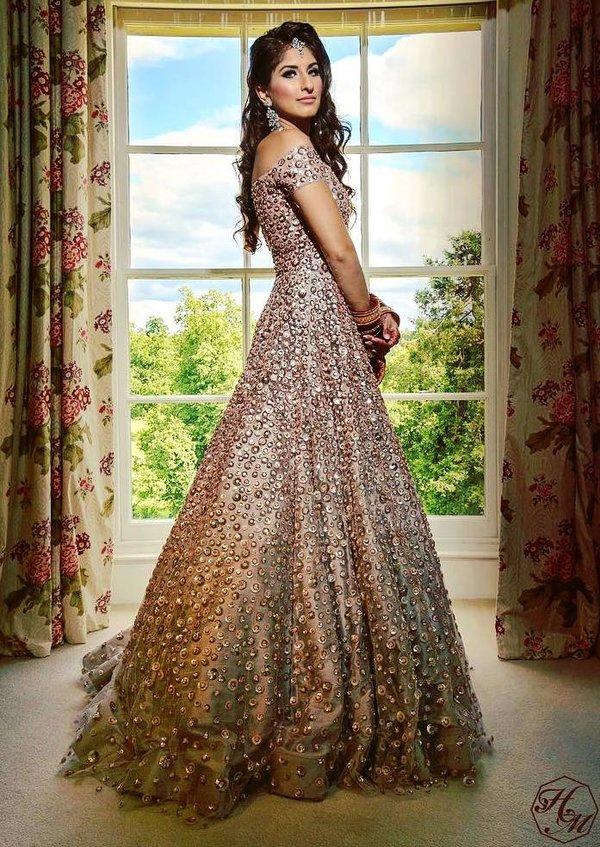 Manish malhotra wedding dresses