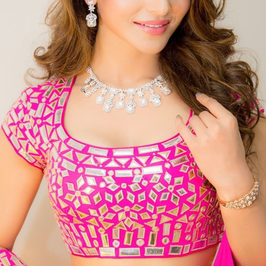 Stand Color Blouse Designs : Top latest trendy blouse designs shaadisaga