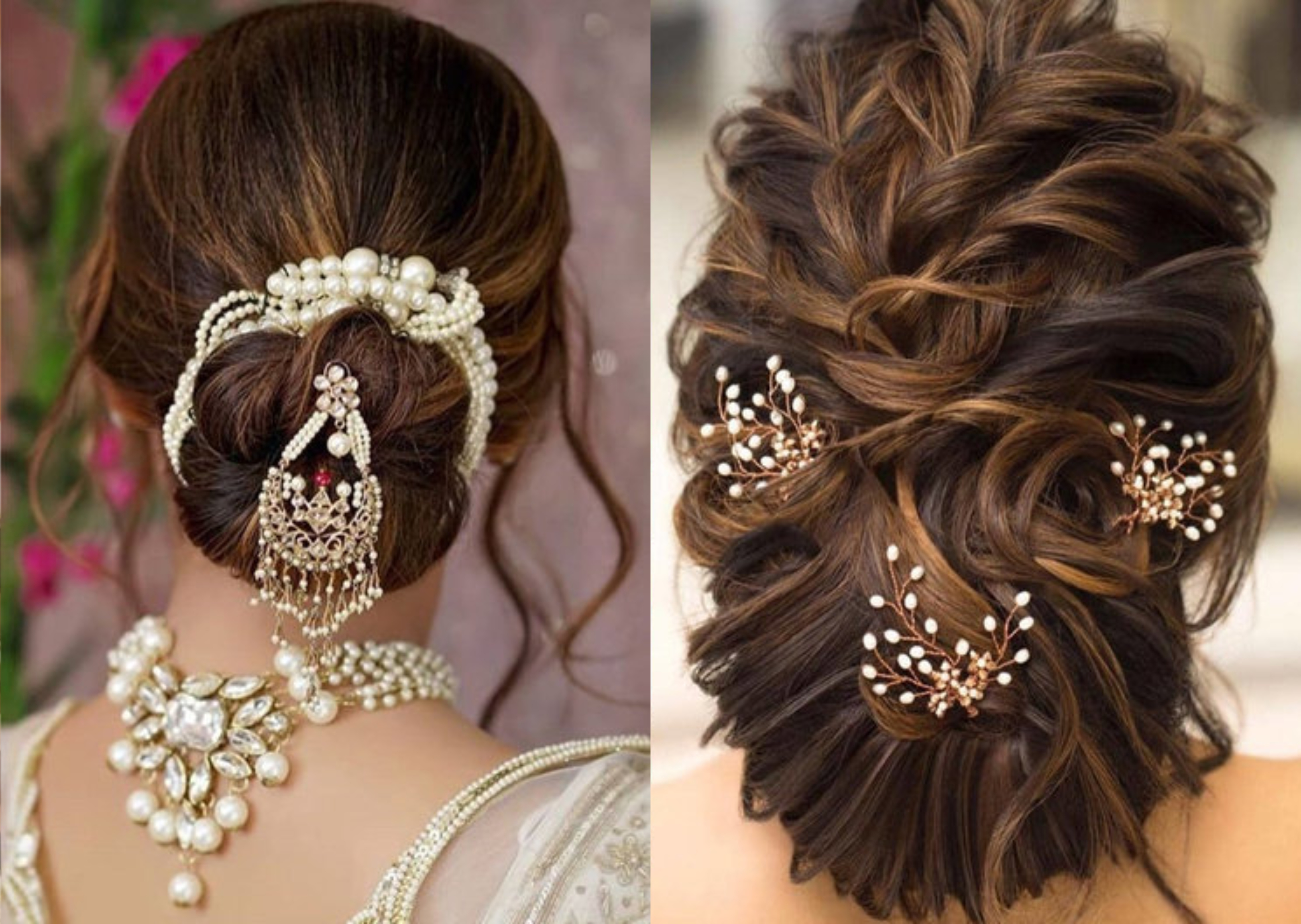 Stylish Bun Accessories to Flaunt your Hair this Wedding Season ...