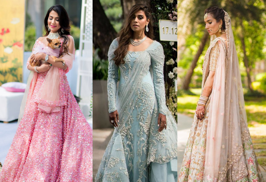 73cf6960324e When fashion bloggers and fashion stylists become brides, their bridal  trousseau is bound to make the loudest noise! After all, their entire  profession ...