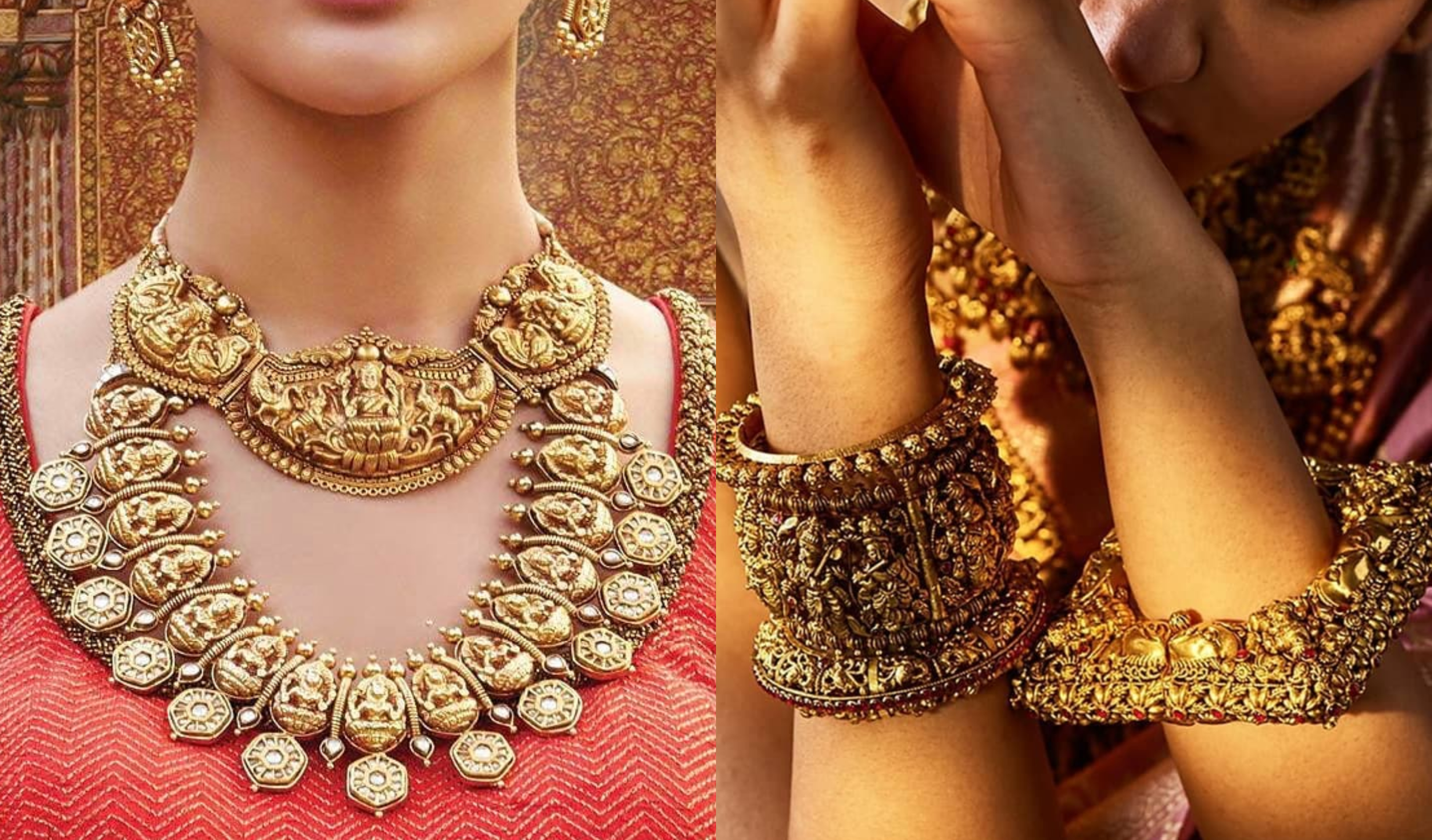 Stunning Temple Jewellery Pieces to Effortlessly Amp Up Your Bridal Look |  ShaadiSaga