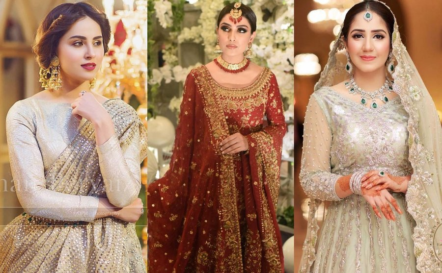 57bb492955 The bridal beauty across the border is truly breathtaking! Everything about Pakistani  brides is so damn captivating that we can't help but go gaga over them ...