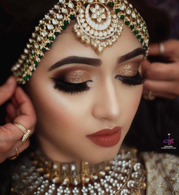 Patti bridal set matha Matha Patti: