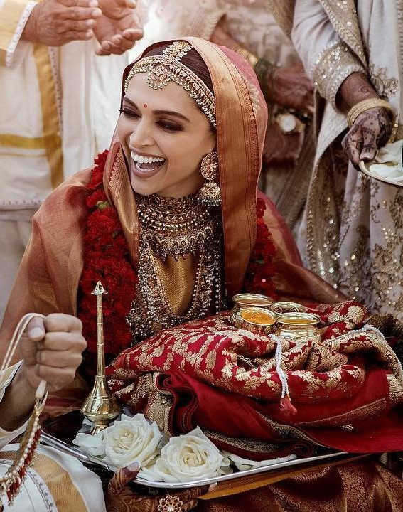 2230d9edbc Deepika Padukone Looks like Rani Padmavati as a Bride & She's ...