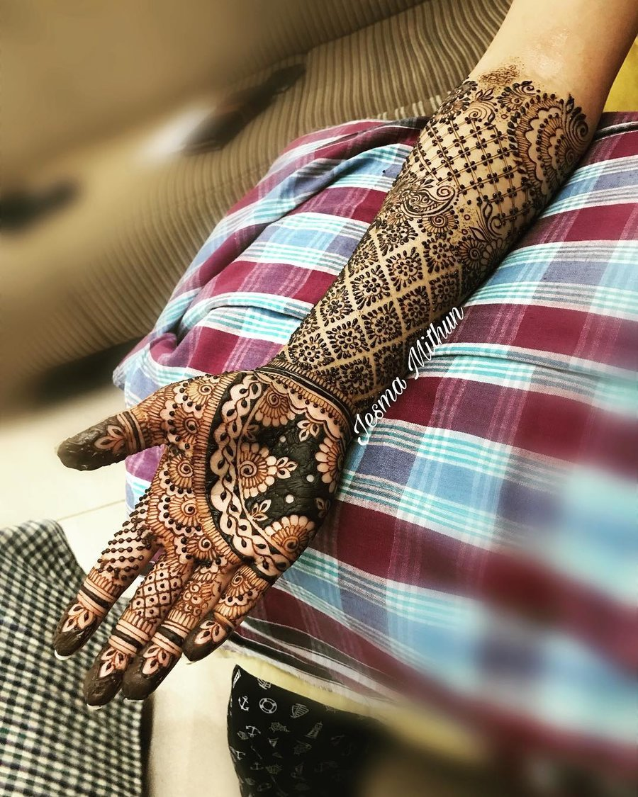 Top 110+ Arabic Mehndi Designs