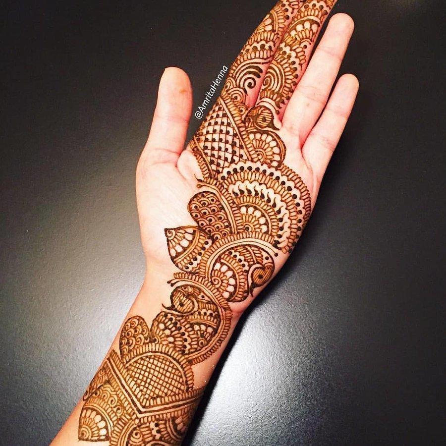 arabian mehndi ki design