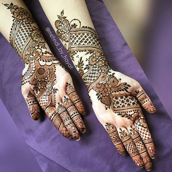 latest mehndi design new
