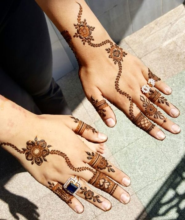 Top 151 Arabic Mehndi Designs Shaadisaga