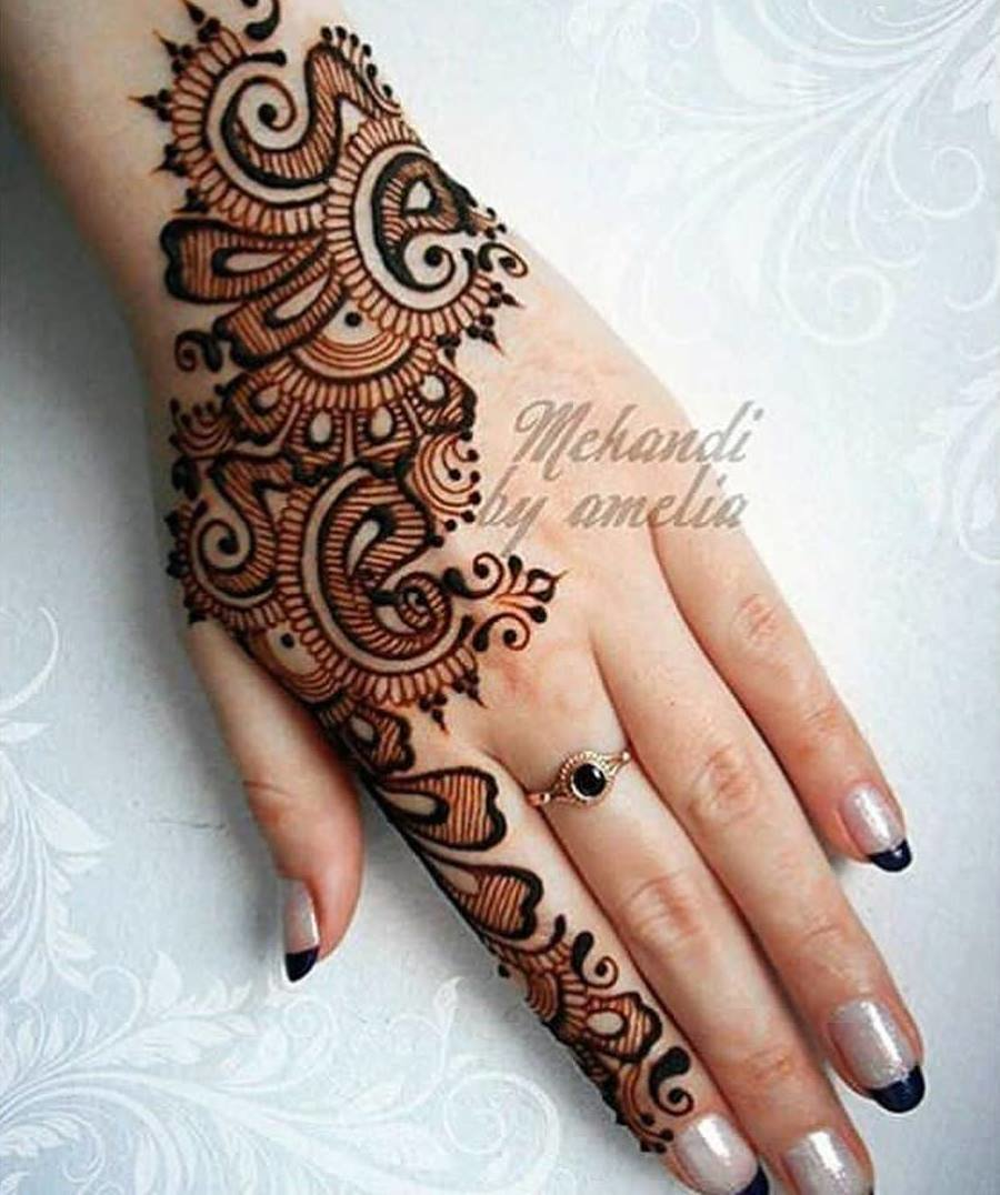 54943df4a Top 110+ Arabic Mehndi Designs | ShaadiSaga