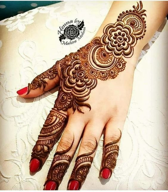 c7f41c9f54be4 Top 110+ Arabic Mehndi Designs | ShaadiSaga