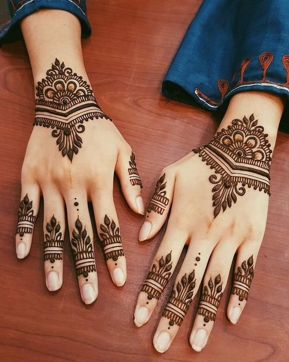 Top 110+ Arabic Mehndi Designs | ShaadiSaga