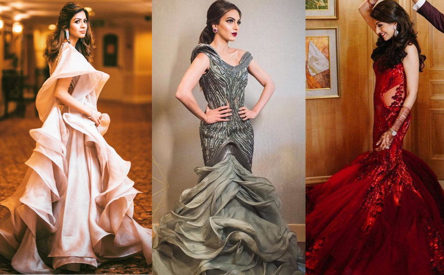 Our Favourite Brides in Glamorous Wedding Outfits by Gaurav Gupta ...