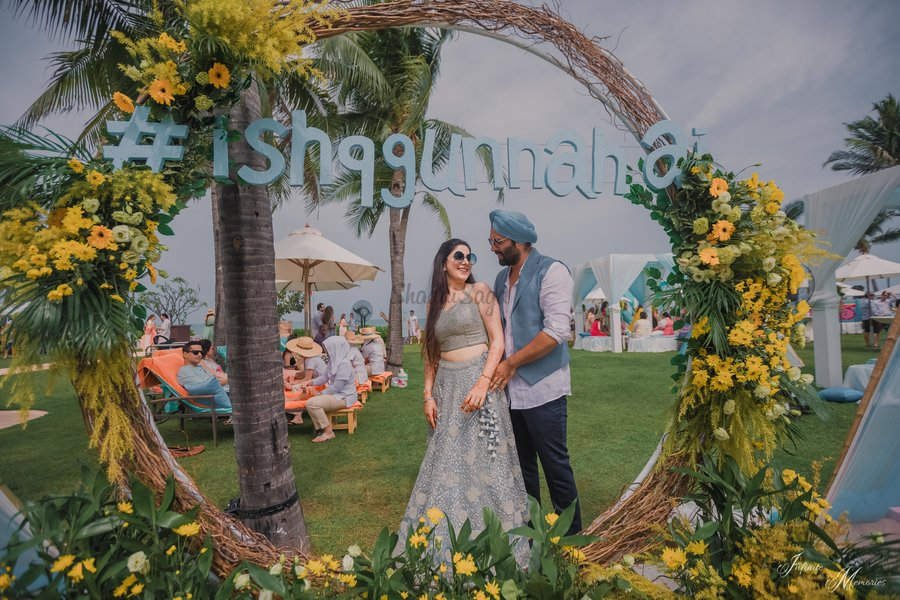 Blissful Sikh Wedding In Thailand With Loot Worthy Outfits Decor