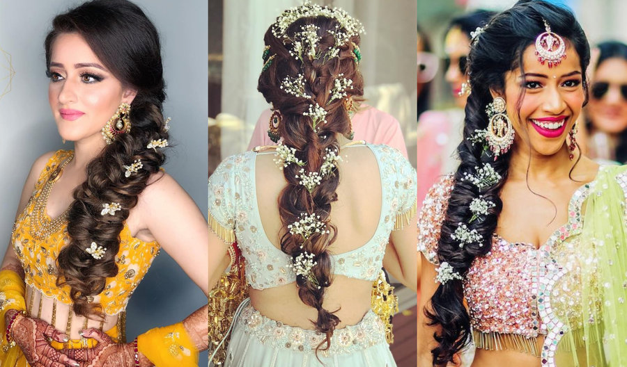 Pretty Braided Hairdo Inspiration For Wedding Ceremonies By Real