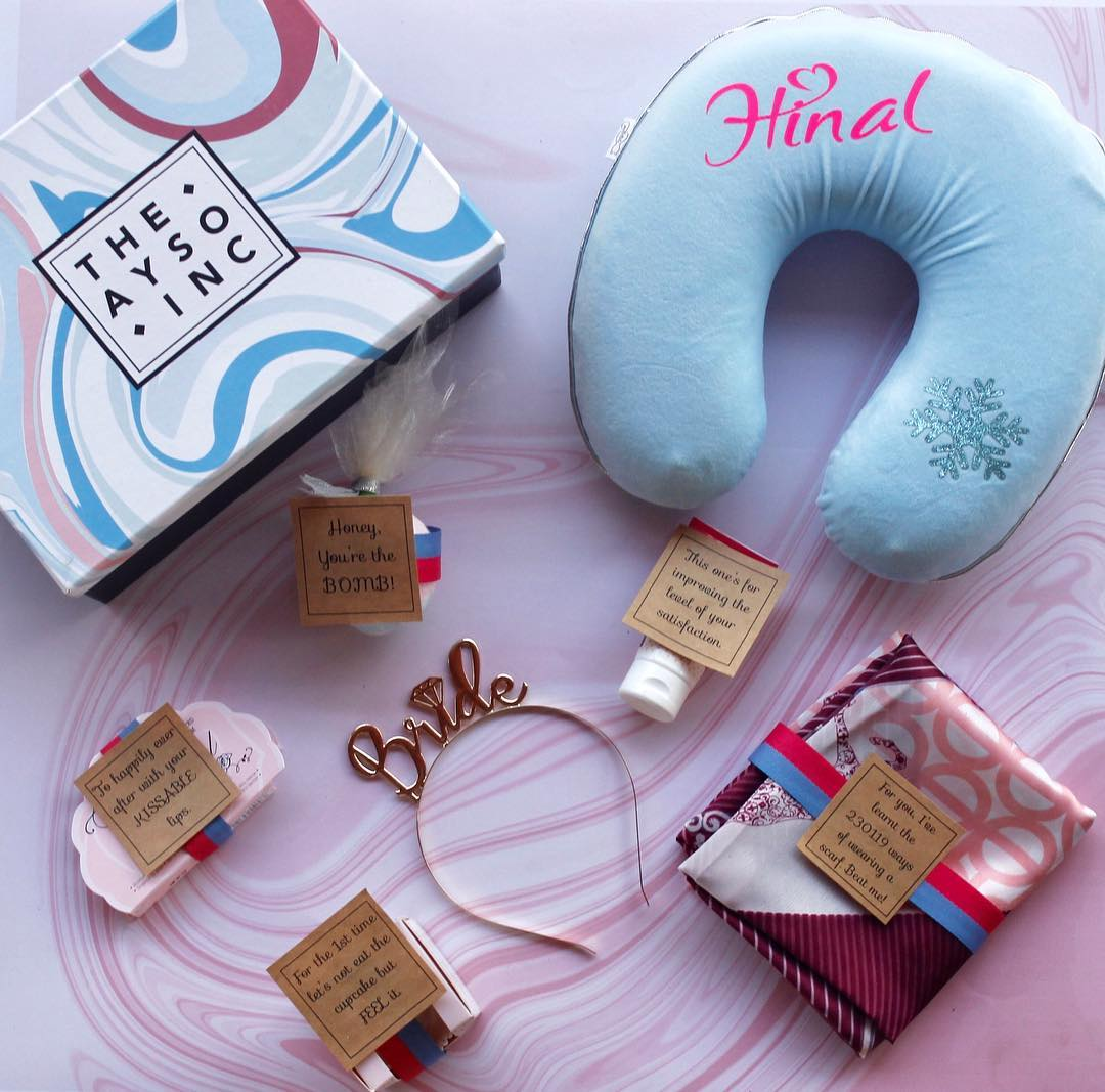 9 Super Thoughtful Cute Gift Hamper Ideas For Your Bride To Be Bff Shaadisaga