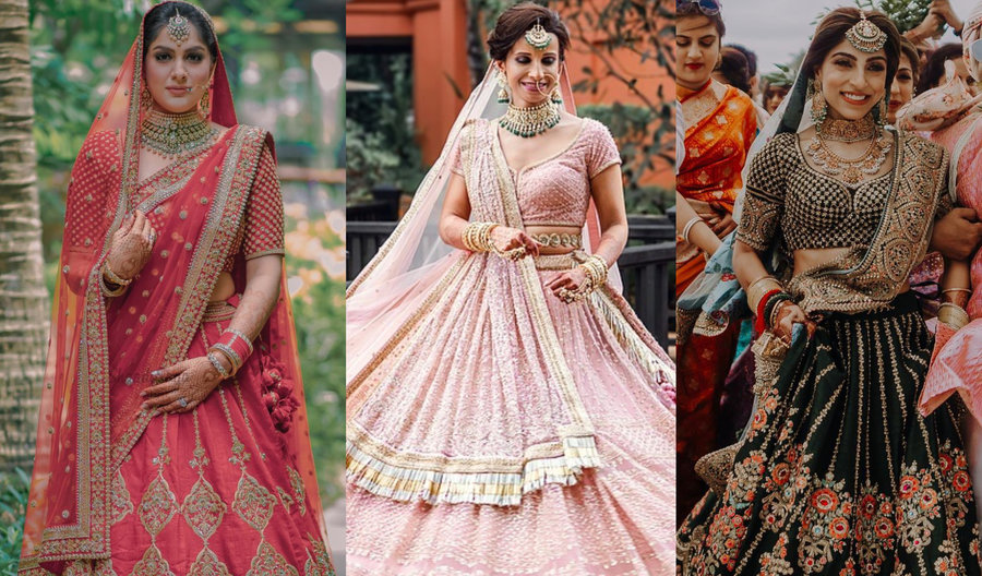 Getting Married In The Day Here Are Our Favorite Bridal Lehenga Colors Shaadisaga