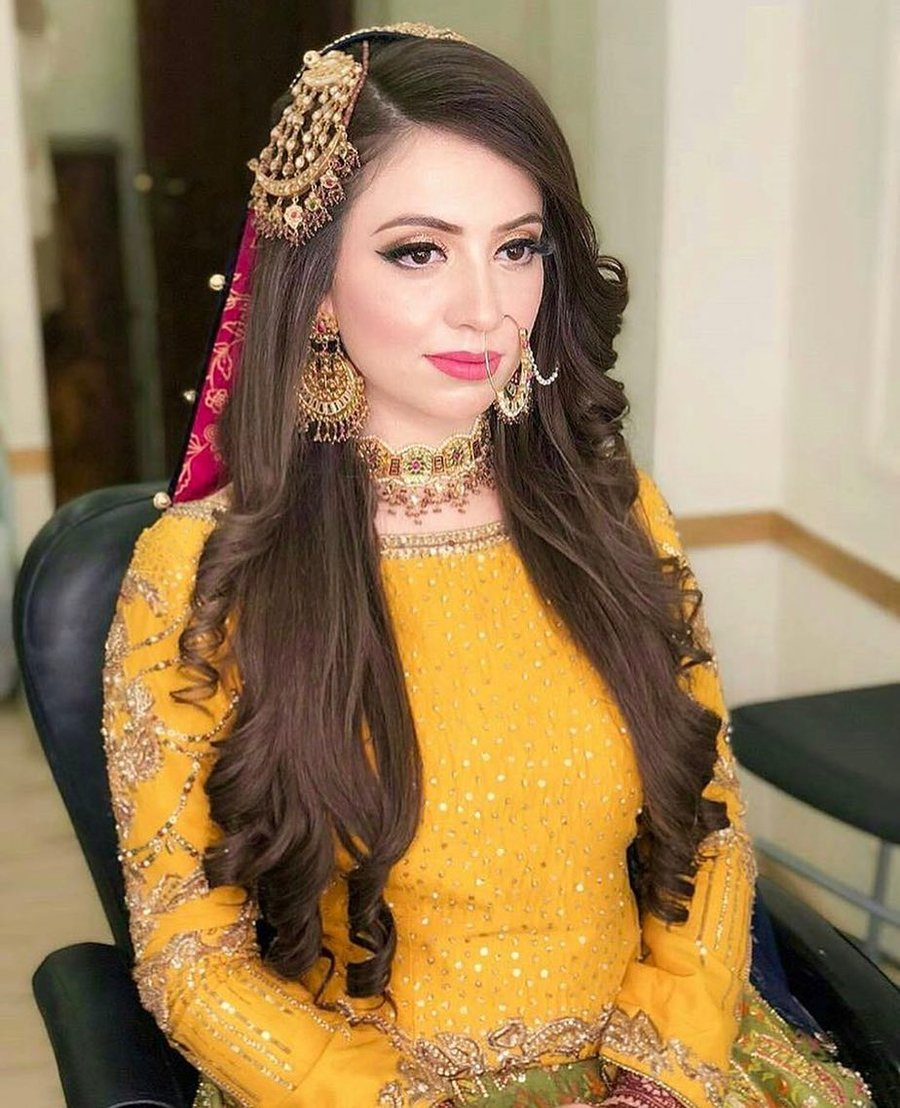 Wedding Hairstyles Games: 15+ Pakistani Brides Who Nailed Their Wedding Jewellery