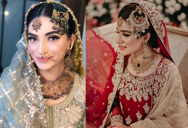 Pakistani brides jewellery