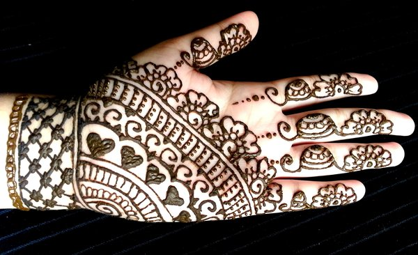 best and easy mehndi designs for kids