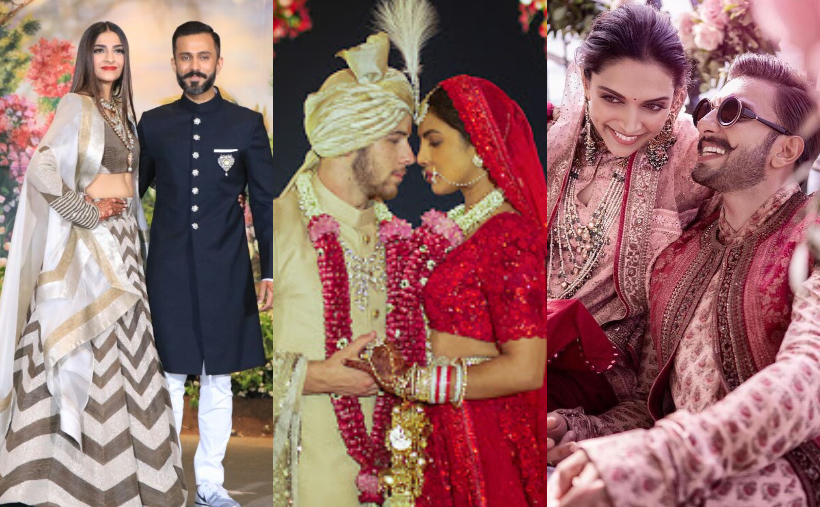 from low-key to lavish: every indian celebrity wedding of