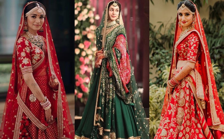 3ff91e2be Our Most Favorite Brides Who Wore Dreamy Sabyasachi Lehengas ...