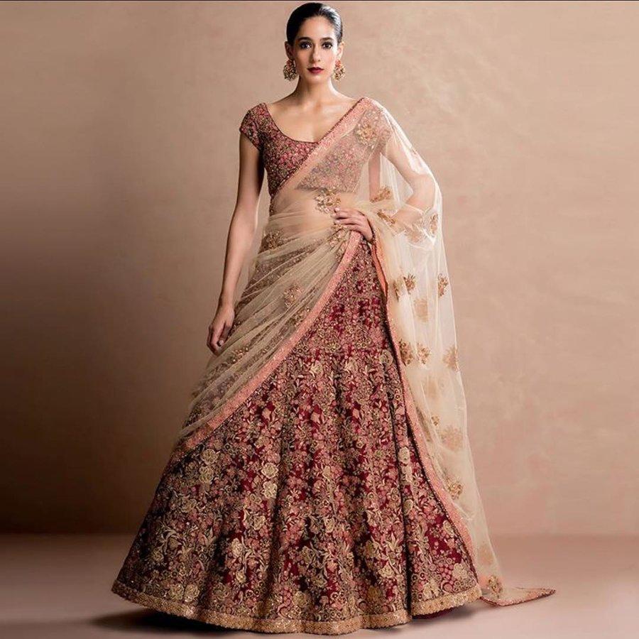 f52b87ad47 Top Bridal Designers Reveal: Latest Lehenga Colour Combinations for ...
