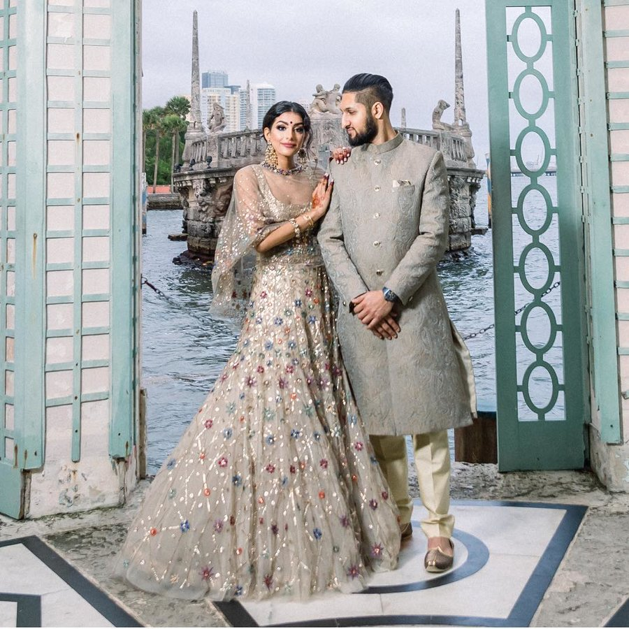 0cc209ed82 21 Stunning Brides who wore Wedding Lehengas by Tarun Tahiliani ...