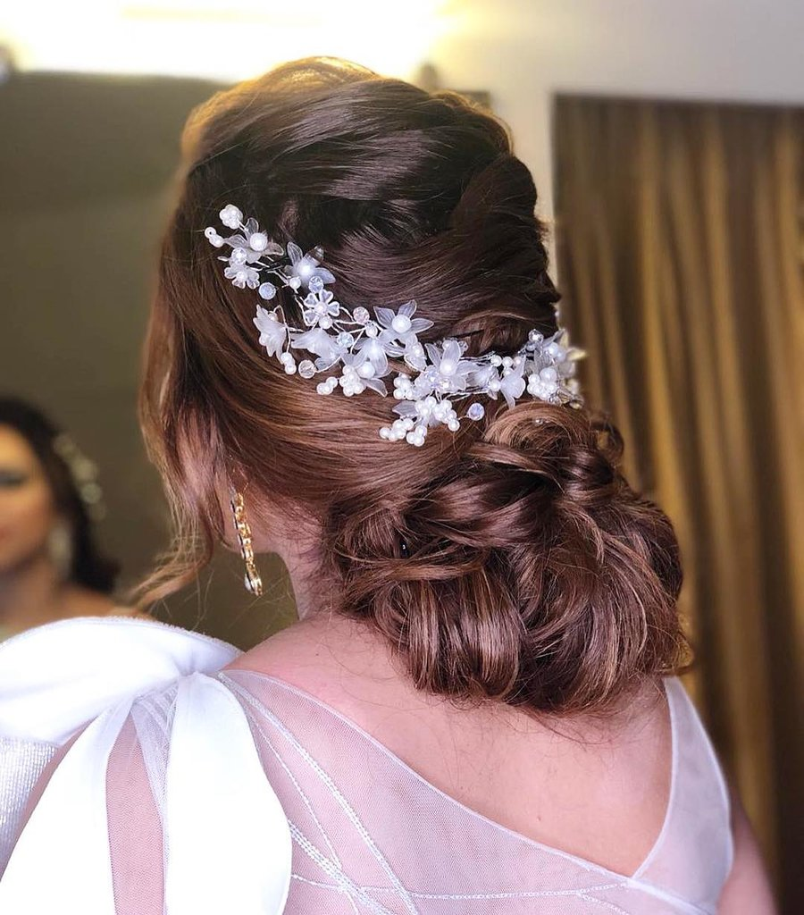 Wedding latest hairstyles for girls