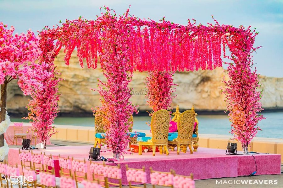 27 Latest Floral Mandap Designs For An Enchanting Wedding