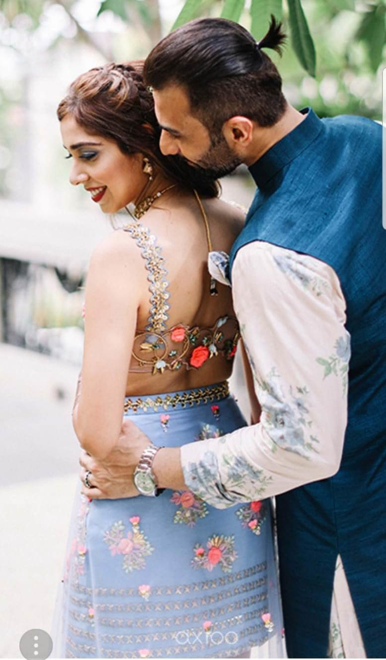 de9023f02a0 45+ Brides Who Wore the Prettiest Outfits for Mehendi Ceremony ...