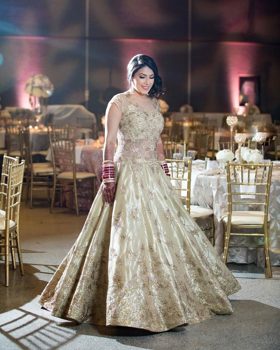 Reception Outfits We Spotted on Real Brides that are Hard to