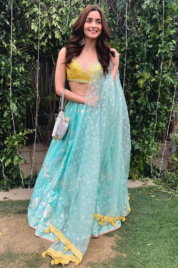All The Times Alia Bhatt Looked Ethereal In Lehengas ...