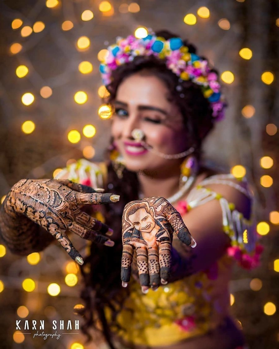 Warm \u0026 Joyous Mehendi Ceremony Photo Ideas You Wouldn\u0027t Want