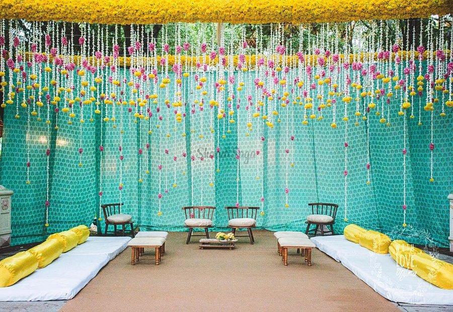 Stunning Turquoise Wedding Decor Photos