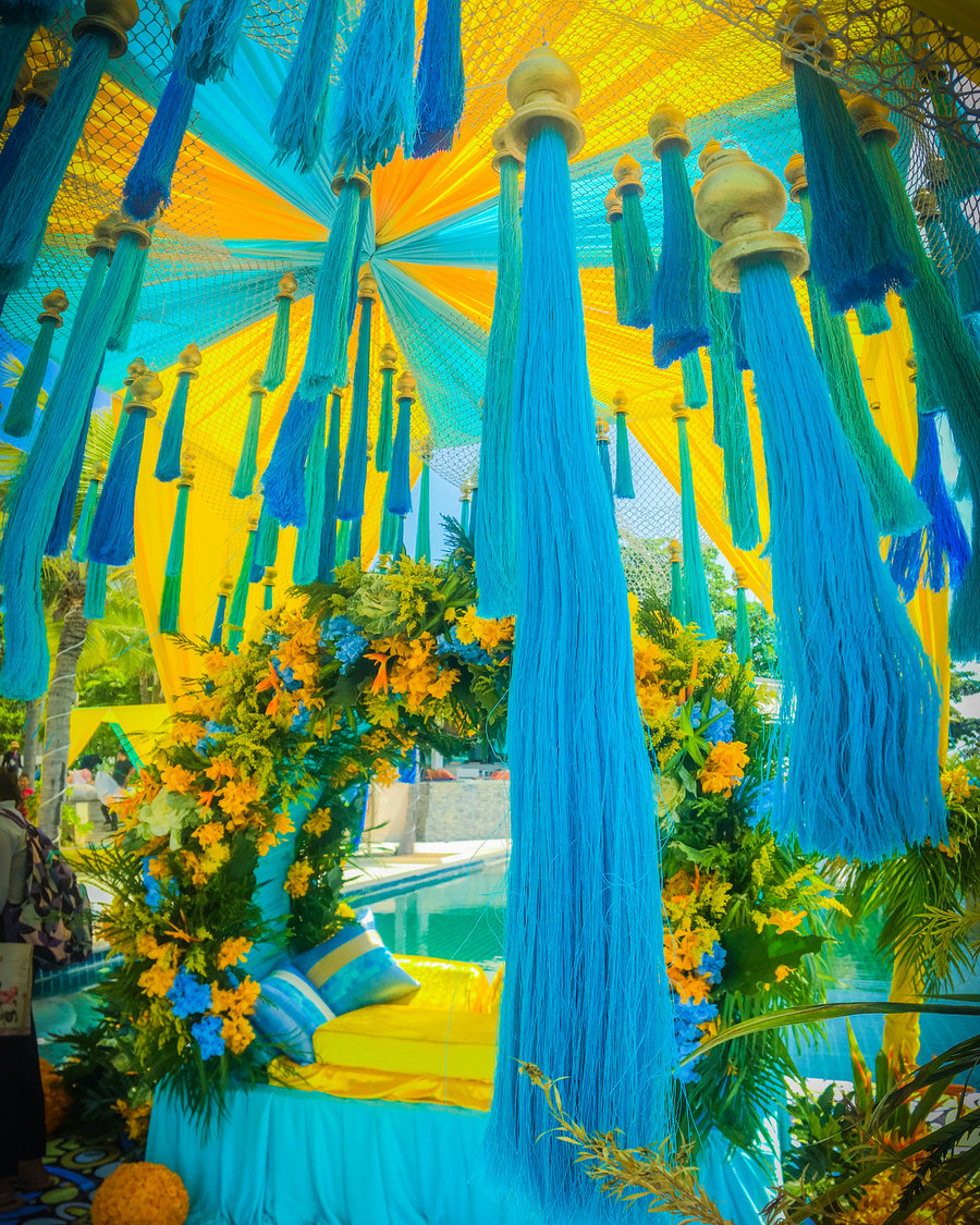 Stunning Turquoise Wedding Decor Photos That Are Feast For The Eyes Shaadisaga