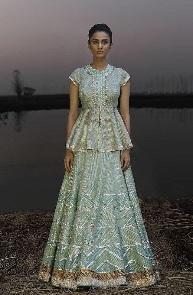 f3dead03de67a 25+ Latest   Trendy Peplum Blouse Designs for Brides   Bridesmaids ...