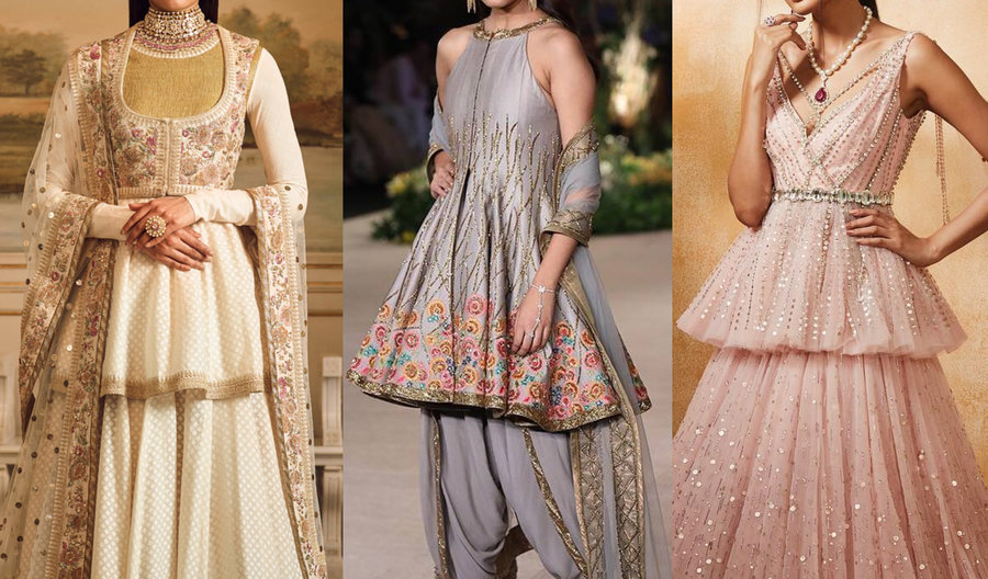 8603372773 After the sultry off-shoulders & stylish backless blouses, it's the Peplum  blouses that are having a major moment in the women wedding fashion scenes.