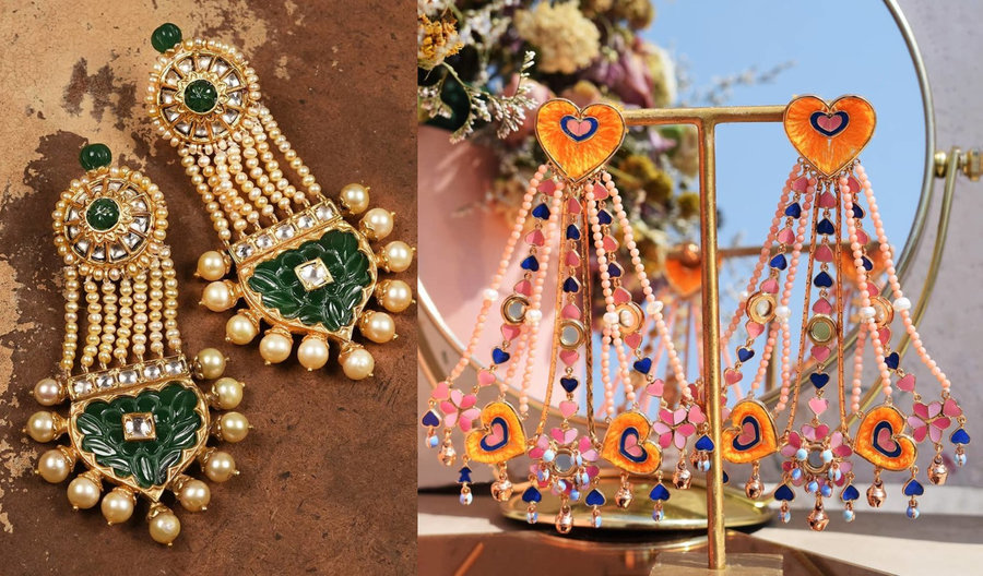 25 Elegant Edgy Jhumar Earring Designs That Can Up Your