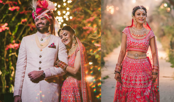 An Enchanted Jungle-themed Wedding with Fab decor & A Gorgeous Couple