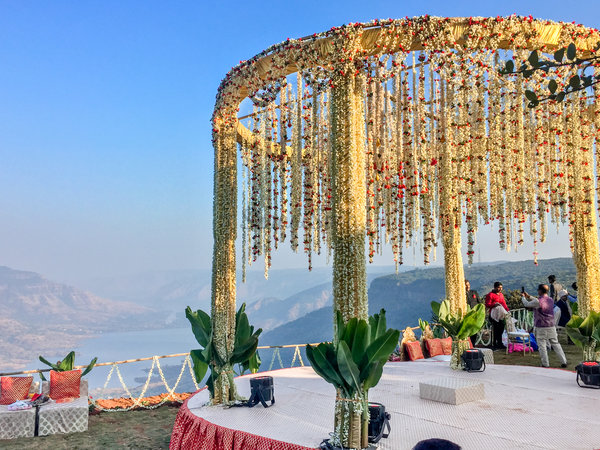 Wedding ramsukh valley mandap edge