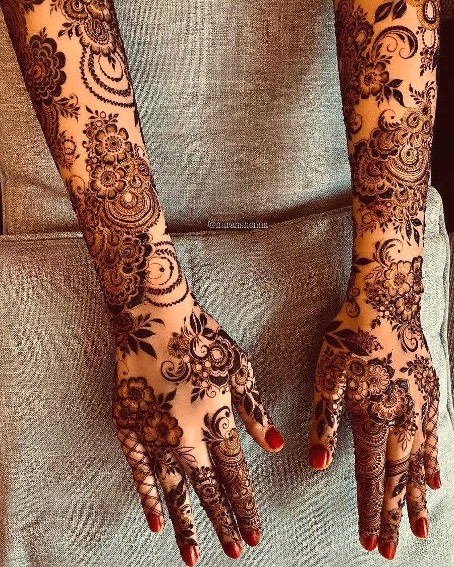 Top 81 Mehndi Designs For Hands Shaadisaga