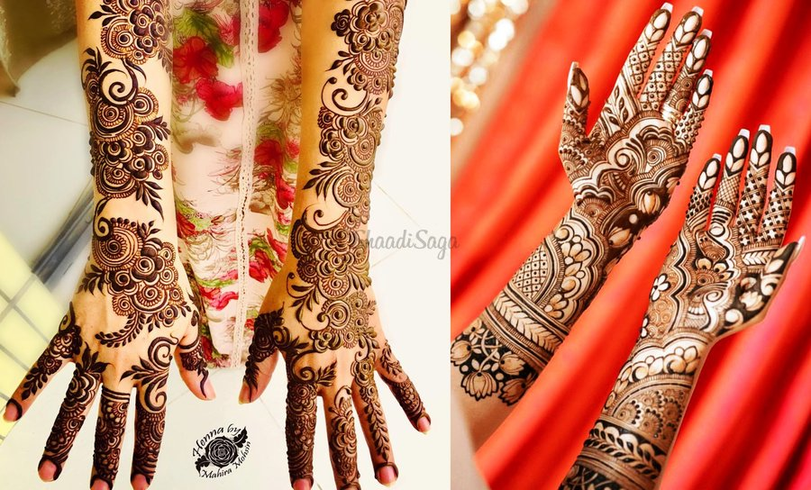 868d29d0b For the deep-rooted cultural past and traditional significance it holds for  a bride, Mehndi is an imperative and an unskippable aspect of her wedding  look.